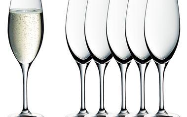 Sklenice na šumivé víno Easy Plus WMF 6 ks