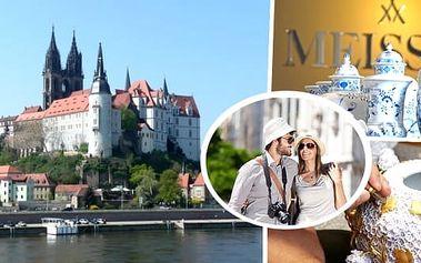 Navštivte romantickou Míšeň v Německu - jednodenní výlet autokarem, prohlídka historického centra města s průvodcem.Den otevřených dveří v míšeňské porcelánce a možnost plavby lodí romantickým labským údolím do Drážďan.