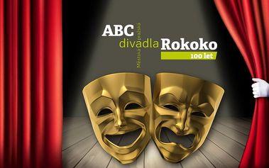 Abonentka do pražských divadel Rokoko a ABC
