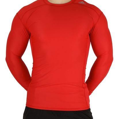 Pánské fotbalové tričko s dlouhým rukávem Adidas Performance vel. S