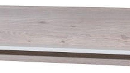 Broke Typ 41 (bílá arctic/bílá arctic vysoký lesk/dub nelson)