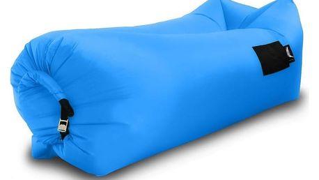 Sedací nafukovací vak BANANA BAG modrá