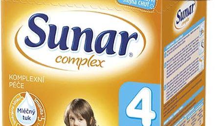 SUNAR Complex 4 (600g) NOVÝ – kojenecké mléko