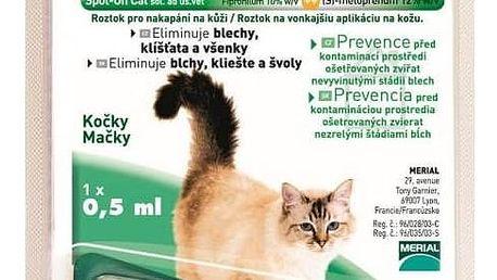 Pipeta Frontline Combo Spot - on Cats 1 x 0,5 ml (malé kočky)