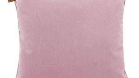 Polštář 366 Concept Velvet Powder Pink - doprava zdarma!