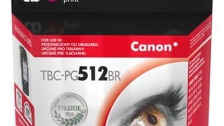 Inkoustová náplň TB Canon PG512BR - kompatibilní (TBC-PG512BR) černá kompatibilní