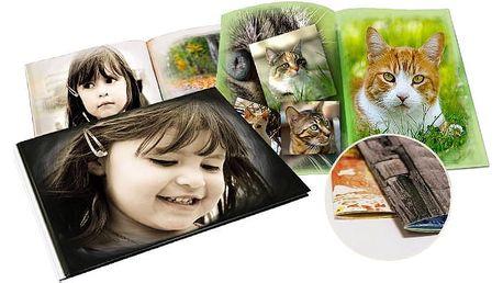 Luxusní fotokniha v různých formátech z vlastních fotografií až o 104 stranách