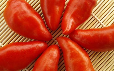 Semínka chilli papriček: výběr z balíčků po více kusech vč. poštovného, možnost osobního odběru