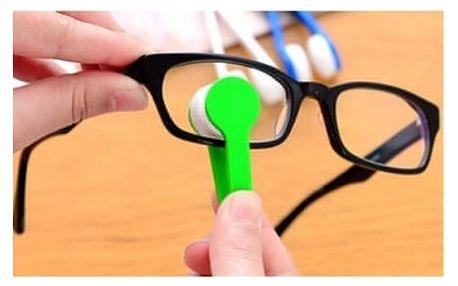 Čistič na brýle z mikrovlákna - 4 kusy