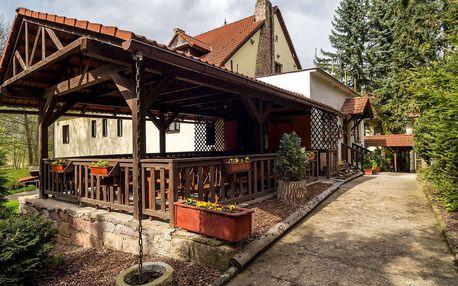 Jarní víkend v hotelu Prostřední Mlýn v Českém ráji s polopenzí, dítě zdarma