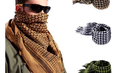 Unisex vojenský šátek - 3 barevné varianty - dodání do 2 dnů