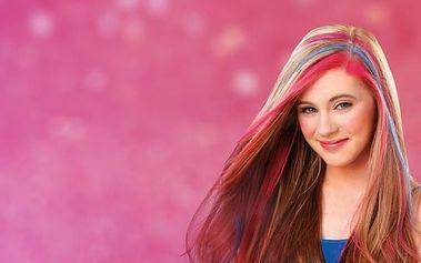 4 smývatelné barvy na vlasy Hot Huez