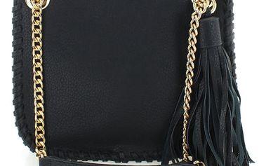 Černá crossbody kabelka Emma