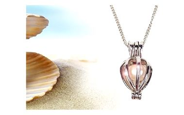 Love pearl - perla přání s náhrdelníkem