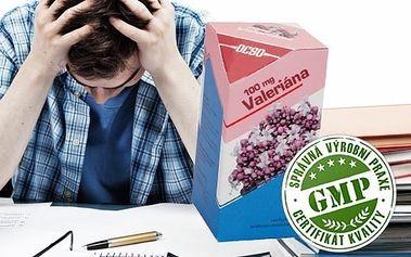 Valeriana 30 tbl - proti STRESU a NAPĚTÍ