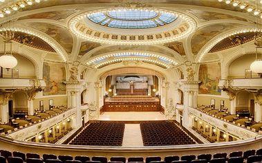 Vstupenka na baletní galapředstavení se zpěváky a orchestrem v Obecním domě v Praze