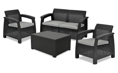 Corfu II - Set Box (černá, šedá)
