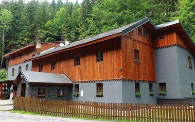 Hotel Kamenný Mlýn v Krkonoších s polopenzí, děti zdarma