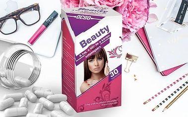Beauty 30 tbl- pro zdravou pleť, vlasy a nehty