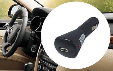 USB nabíječka do auta