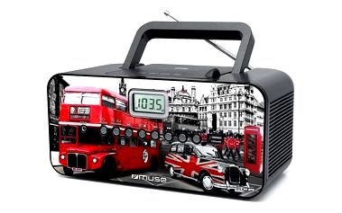 Radiopřijímač MUSE M-28 Londýn design + Doprava zdarma