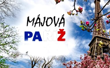 2099 Kč za zájezd do májové Paříže 28.4 - 1.5.2017. Cena včetně dopravy a noclehu