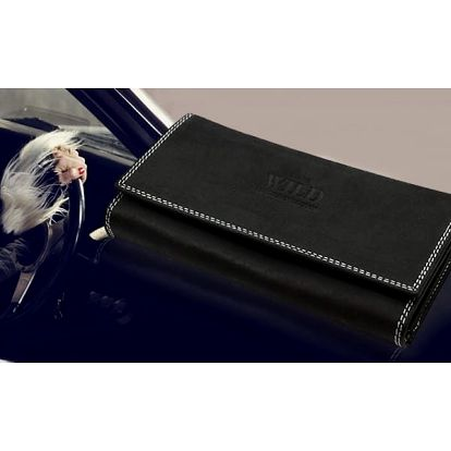 Dámská elegantní peněženka z pravé kůže