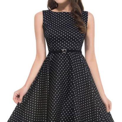 Překrásné letní šaty v retro stylu - různé motivy