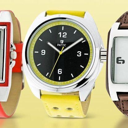 Minimalistické a elegantní hodinky Pattic