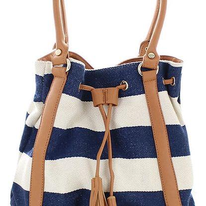 Tmavě modrá kabelka Sailor