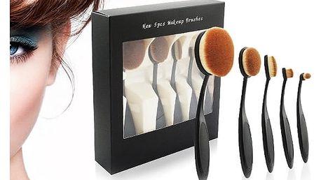 Sada 5ks profesionálních štětců na makeup