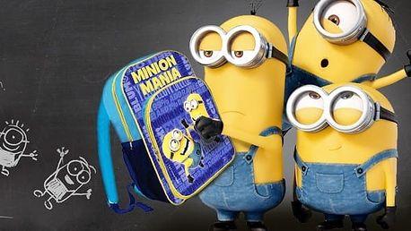 Školní taška s potiskem Mimoni