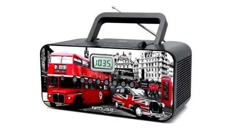 Radiopřijímač MUSE M-28 Londýn design