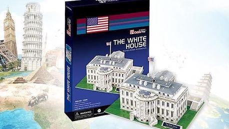 3D puzzle - Biely Dom