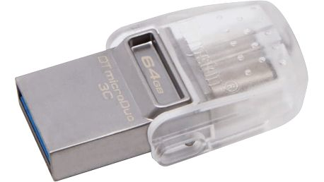 Kingston DataTraveler microDuo 3C - 64GB - DTDUO3C/64GB