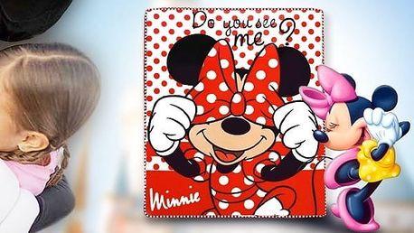 Dětská deka Minnie Mouse