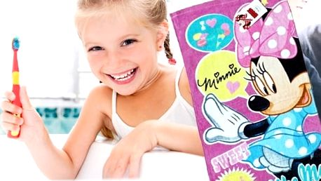 Disney ručník Minnie Sweet like me