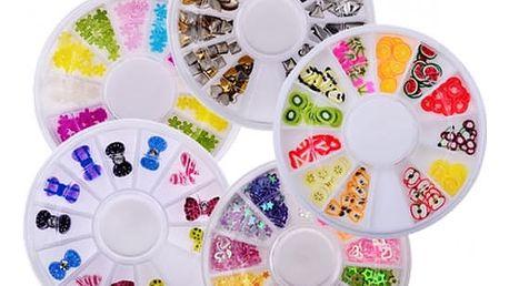 Ozdobičky na nehty v různých variantách - dodání do 2 dnů