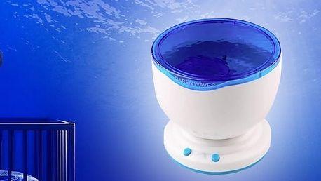 """Lampa s projektorem vln """"Mořská laguna"""""""