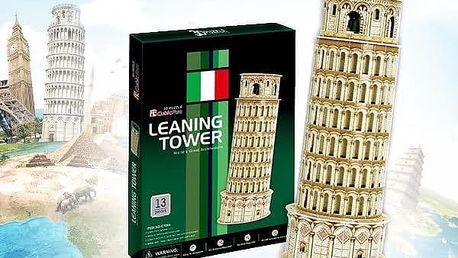 3D puzzle - Šikmá věž