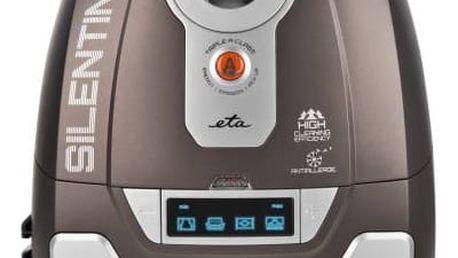 Vysavač podlahový ETA Silentino 1510 90000 hnědá barva + K nákupu poukaz v hodnotě 2 000 Kč na další nákup + Doprava zdarma