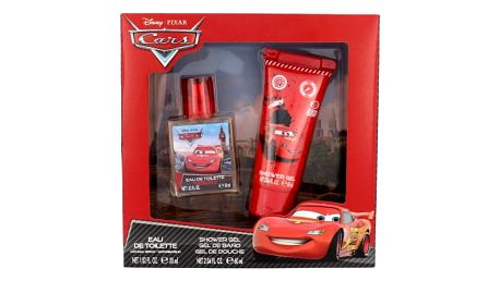 Disney Cars dárková kazeta toaletní voda 30 ml + sprchový gel 60 ml