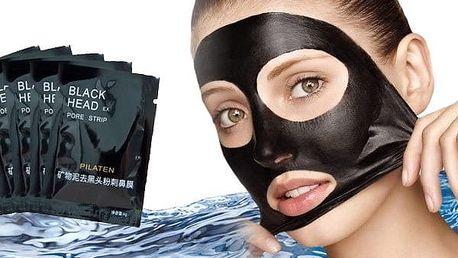Korejská černá maska na čištění pórů 10ks