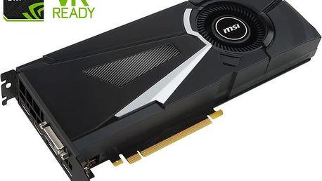 MSI GeForce GTX 1080 AERO 8G, 8GB DDR5X - GTX 1080 AERO 8G OC + Kupon hra dle vlastního výběru: For Honor, Tom Clancy´s Ghost Recon v ceně 1499,- Kč
