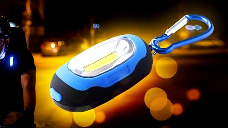 Mini LED světélko na klíče