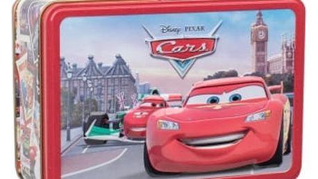 Disney Cars dárková kazeta toaletní voda 50 ml + plechová krabička + klíčenka