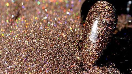 Třpytivé glitry na zdobení nehtů