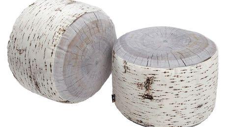 Sedák vhodný do exteriéru Merowings Birch Tree Stump, 60cm - doprava zdarma!
