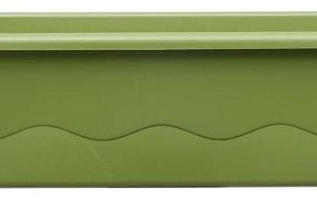 Samozavlažovací truhlík Mareta 60 zelená, Plastia