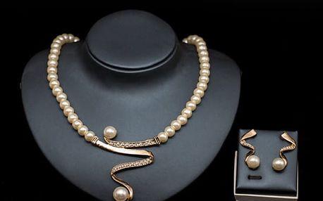 Set šperků - náušnice + náhrdelník